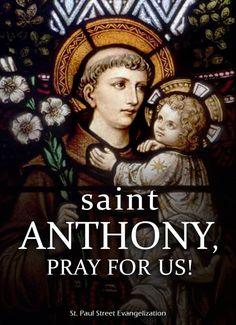 ST ANTHONY OF PADUA - JUNE 13
