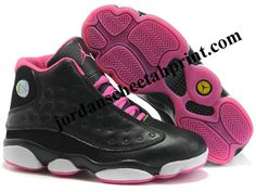 reebok pump basketball - Air Jordan 13 Women Color Shoes Black/Pink For Sale | Hoopstar ...