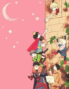 Ouran ~~ Prince Haruhi attempts to rescue Princess Tamaki with the help of her friends
