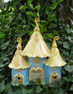 Magical Fairy House toad gnome. $132.00, via Etsy.