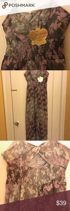 Vera Wang Dress-NWT Beautiful pale purple and grey Vera Wang  dress. NWTNW Vera Wang Dresses High Low
