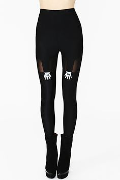 Handy Suspender Leggings