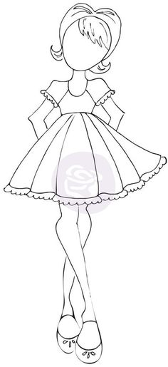 3.5 x 8 Cling Stamp - Candie - Julie Nutting - Designers - Shop Products - Store