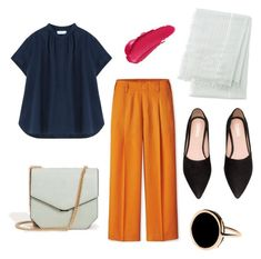 """""""Spring/Summer"""" by aneeqlondon on Polyvore featuring MANGO, Uniqlo and Ginette NY"""