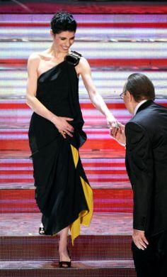 Giorgia e Pippo Baudo, Sanremo 2008