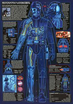 Darth Vader cybernetics info guide