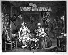 18th century prostitute hogarth
