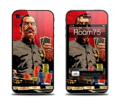 Poker Iphone 4/4s/5 Galaxy S3 Skin and wallpaper from by Room75, $8.99