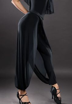 Santoria Agna Trousers TR4032 | Dancesport Fashion @ DanceShopper.com