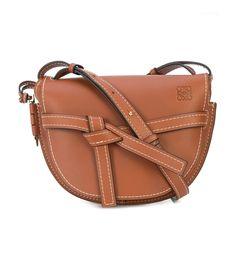 Loewe Gate Saddle Bag - Tan - current WANT