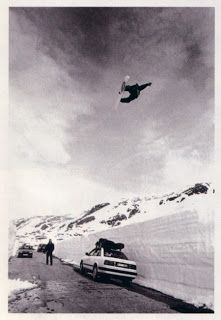 This shit is timeless. Perfect front-side three. Jamie Lynn has, and will always be a snowboarder's snowboarder. If you don't get that, then we're riding on two different sides of the hill. This was 1994, and if this dude even got a paycheck for riding it went directly into getting gas to get up the hill. There is something very wrong with snowboarding today,but at least we got Jamie Lynn to show us how a method should really look like.