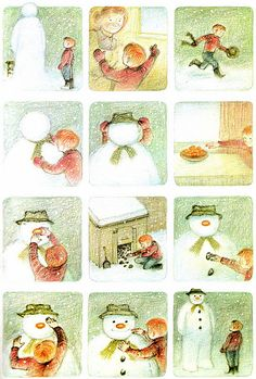 snowman...forget the exact title of this book or movie but I remember it. Anyone else?