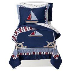 Target : JoJo Designs 5- Piece Toddler Bedding Set - Nautical Nights : Image Zoom