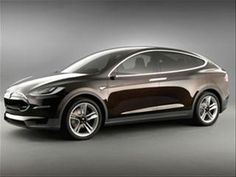 Tesla Model X. Production begins 2014