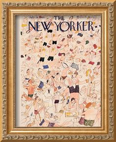 The New Yorker Cover - July 13, 1946 Regular Giclee Print by Ludwig Bemelmans at Art.com