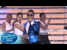 """Performance en la final de American Idol de Psy """"Gentleman"""""""