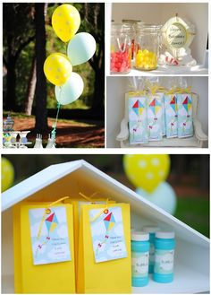 kite party ideas