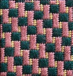 Схемы вышивки + как будет выглядеть узор в готовом виде