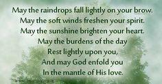 Irish wisdom...St Brigids blessing