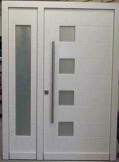Modern Exterior Doors / Contemporary Exterior Doors - front doors - new york - Liberty Windoors Corp. Best Front Doors, Front Door Entrance, Glass Front Door, The Doors, Front Entry, Entry Doors, Glass Door, Modern Exterior Doors, Exterior Front Doors