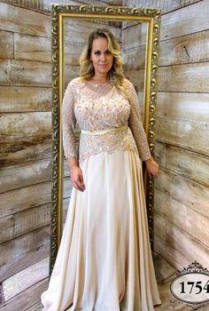 Coleção Ouro - Vestidos Plus Size - Aiza Collection
