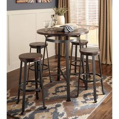 found it at wayfair swigart 5 piece pub table set fh u0026 pr design ideas pinterest pub table sets nook and kitchens