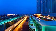 rooftop bar - lighting