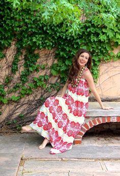 Beautiful dress by Sheridan French