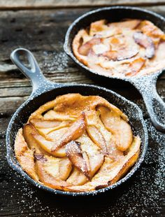 caramelized pear oven pancake