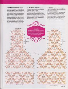 Crochet Jumper, Crochet Vest Pattern, Crochet Cardigan, Crochet Patterns, Zig Zag Crochet, Cute Crochet, Knit Crochet, Gilet Kimono, Crochet Stitches Chart