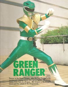 Tommy/Green Rangers- Mighty Morphin' Power Rangers