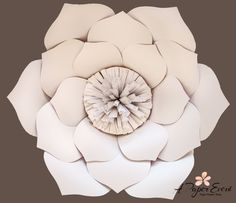 Paper Flower Backdrop Wedding Centerpiece Baby by APaperEvent