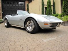 1970 Corvette Stingray Convertable... classic. This with a 427 may be the sexiest car ever produced. Certainly one of my top 2 Favs.