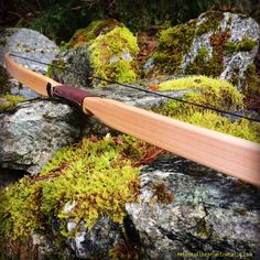 Traditional Wooden Longbow Made With by ReturnOfThePrimitive