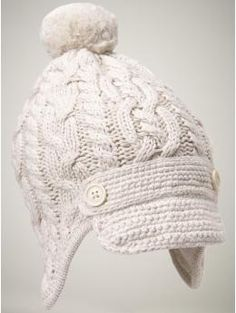 Love this hat from Gap and it's cheaper than other knit hats I've found!