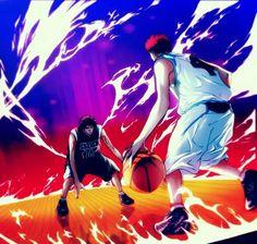 Kagami vs Akashi(zone)