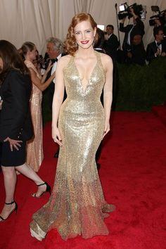 Met Ball Gala 2015 - Jessica Chastain