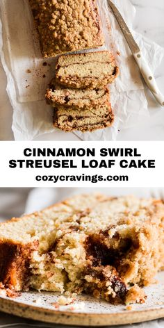 Coffee Cake Loaf, Loaf Cake, Homemade Desserts, Delicious Desserts, Yummy Food, Cake Recipes, Dessert Recipes, Loaf Recipes, Yummy Recipes