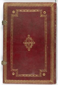 Here is a bookcover from a hebrew manuscript. It has been made in Europe. #manuscript #illumination #hebrew #bookcover