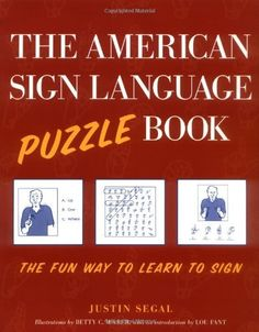 The American Sign Language Puzzle Book - Kindle edition by Justin Segal. Reference Kindle eBooks @ Amazon.com.