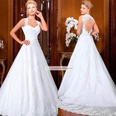 Glitz Lace A Line Wedding Dresses 2015 Sweetheart Appliques Lace Backless Vintage Bridal Gowns Vestidos De Noiva from Enjoyweddinglife,$156.42 | DHgate.com