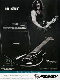 Wolfgang Van Halen & Peavey Promo Ad  Van Halen  by MusicSellerz