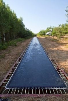 4 - 170' LONG TRAMPOLINE IN THE RUSSIAN FOREST