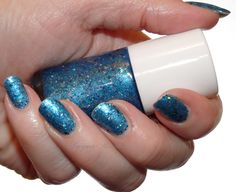 """Tawdry Terrier """"Moondoggie"""" http://www.lacquerreverie.com/2013/08/keeping-cool-with-tawdry-terrier-dog.html #nailpolish #indienailpolish"""
