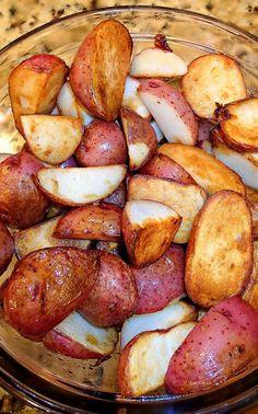 olive oil fried potatoes