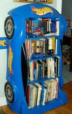 Car bookcase