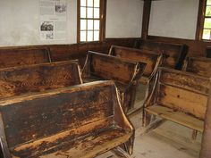 Inside the Old Sturbridge Village School