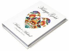 Księga Gości Weselnych A4 100 stron różne wzory (5549774367) - Allegro.pl - Więcej niż aukcje. Cards, Maps, Playing Cards