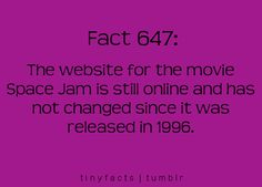 It's true! Space Jam website: http://www2.warnerbros.com/spacejam/movie/jam.htm