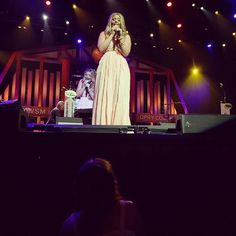 @Lauren_Alaina truly lights up the stage tonight at the Grand Ole Opry (photo thanks to @terriTN)...https://instagram.com/p/1wk-x2PoaQ/